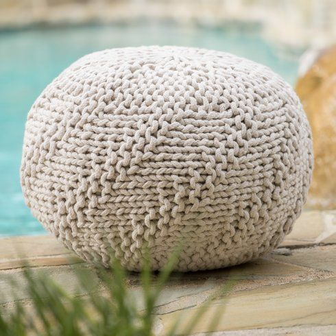 Hudson Outdoor Pouf Ottoman Inside Out Pinterest Outdoor Pouf Gorgeous Outdoor Pouf Footstool