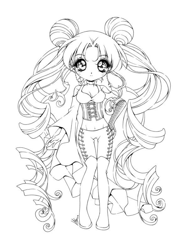 Sailormoon goth by sureya on deviantart coloriages 2 coloriage manga dessin coloriage et - Coloriage manga livre ...