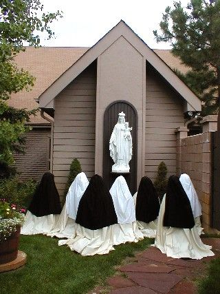 Carmelite Monastery of the Sacred Heart, CO {Happy Feast Day, July