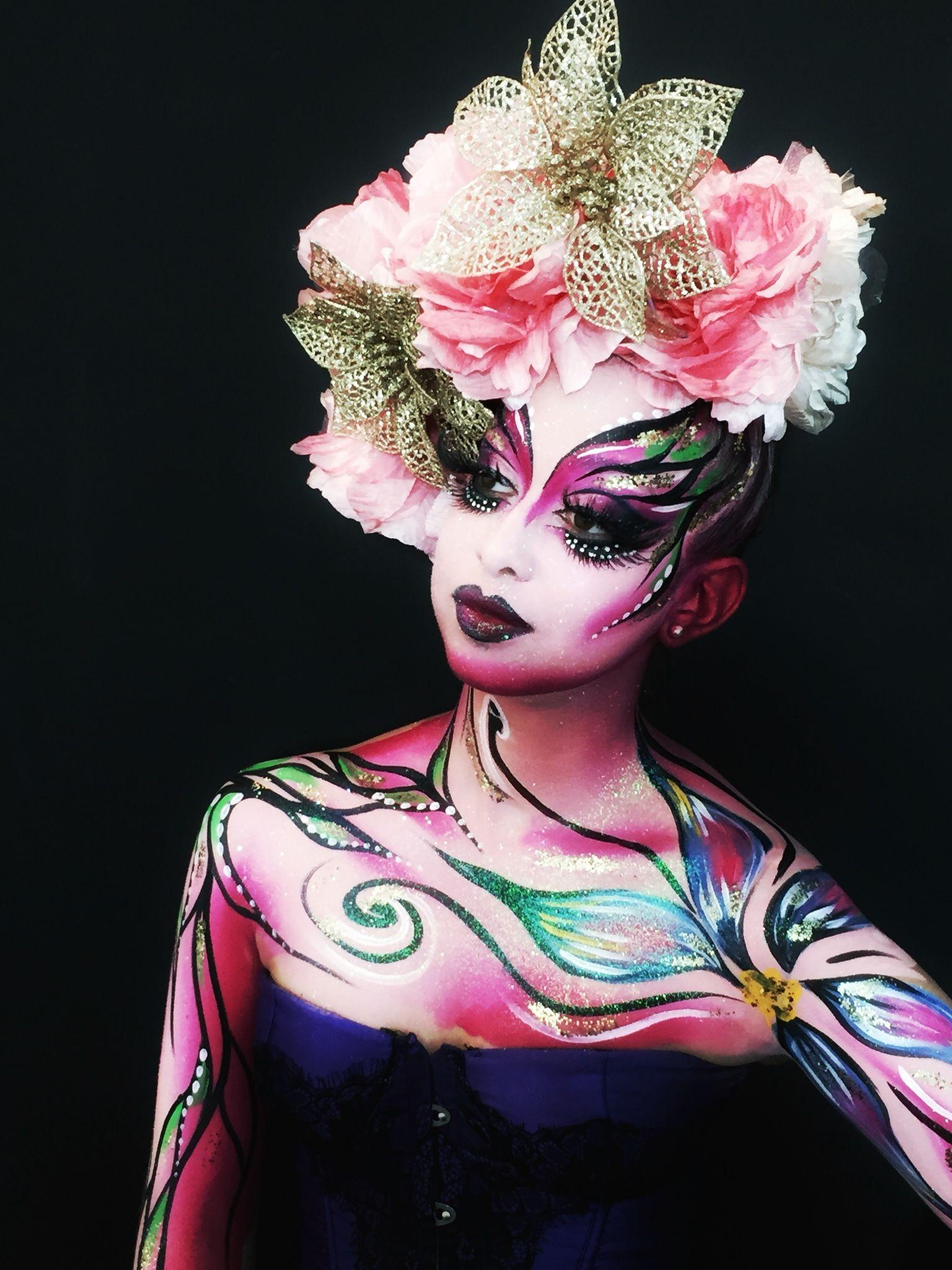 Maquillage Artistique Halloween.