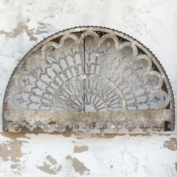 Metal Filigree Arch Wall Decor