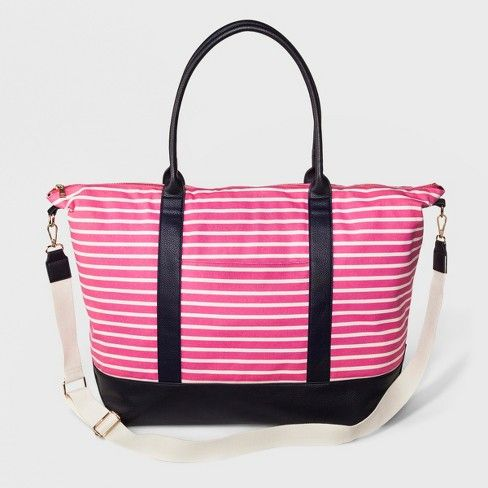 Women s Canvas Weekender Bag - A New Day™   Target  381f32e6bddb2