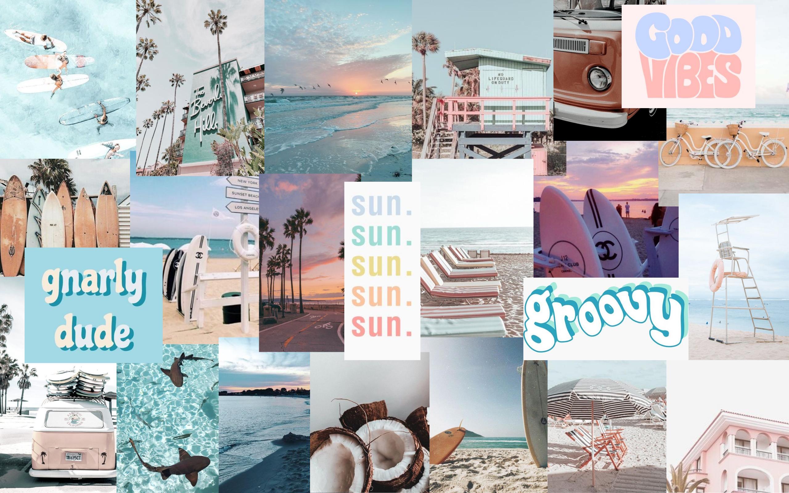 beach aesthetic wallpaper in 2020 Aesthetic desktop