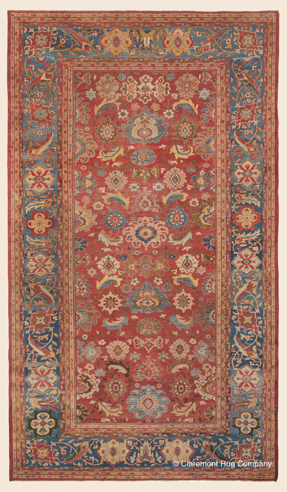 Pin On Antique Persian Sultanabad Rugs