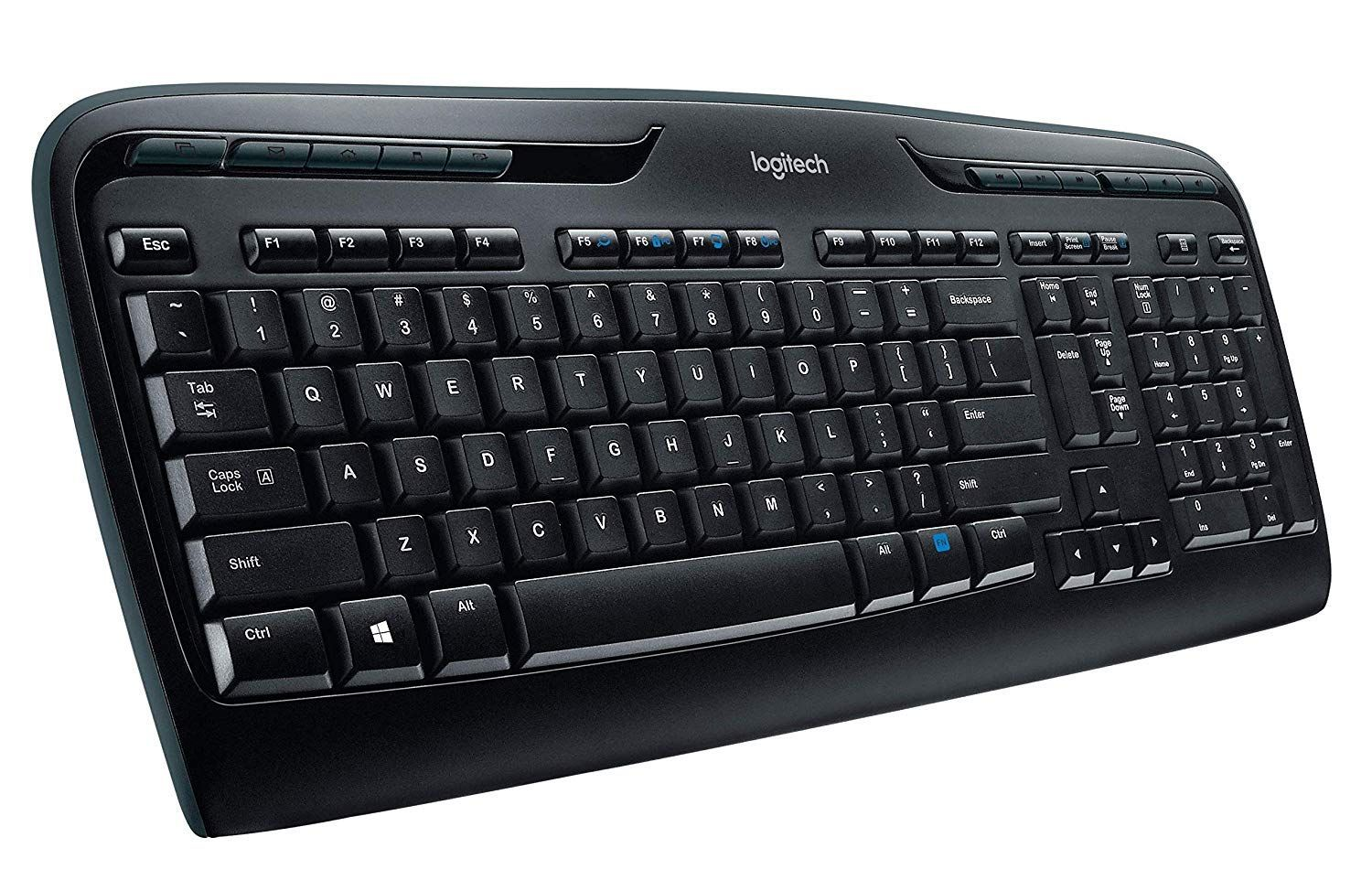 Logitech K330 Wireless Desktop Keyboard and M215 Wireless