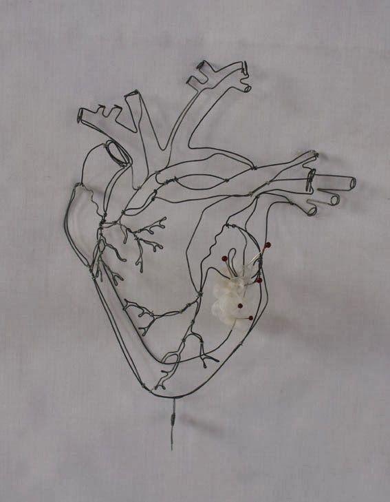 objets fils de fer sculptures et objets | Coeurs | Wire ...