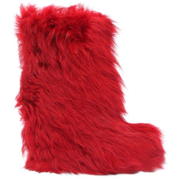 Moncler Botas rojas