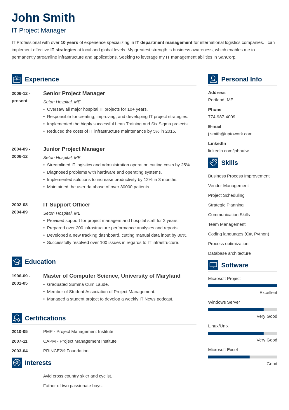 My resume Zety Best resume template, Resume template