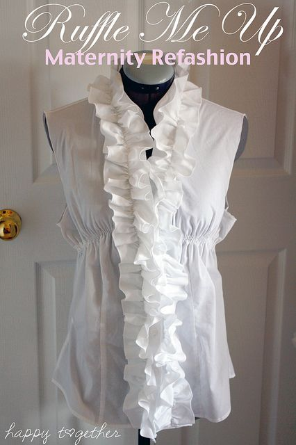 How to make a long sleeve t shirt into a dress