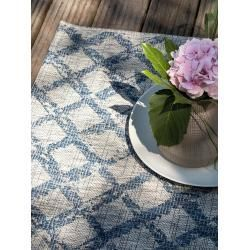 Benuta Indoor Outdoor Carpet Cleo Blue 200 290 Cm For Balcony