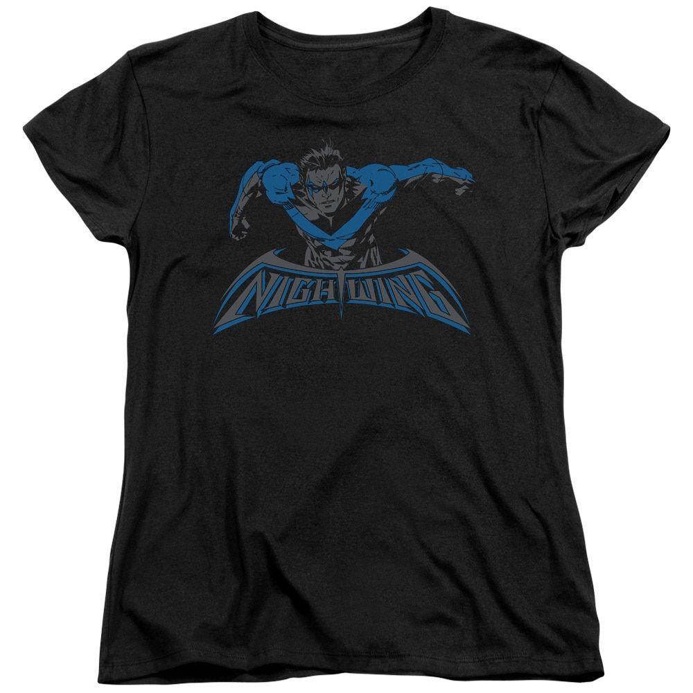 Batman/Wing Of The Night Short Sleeve Women's Tee in
