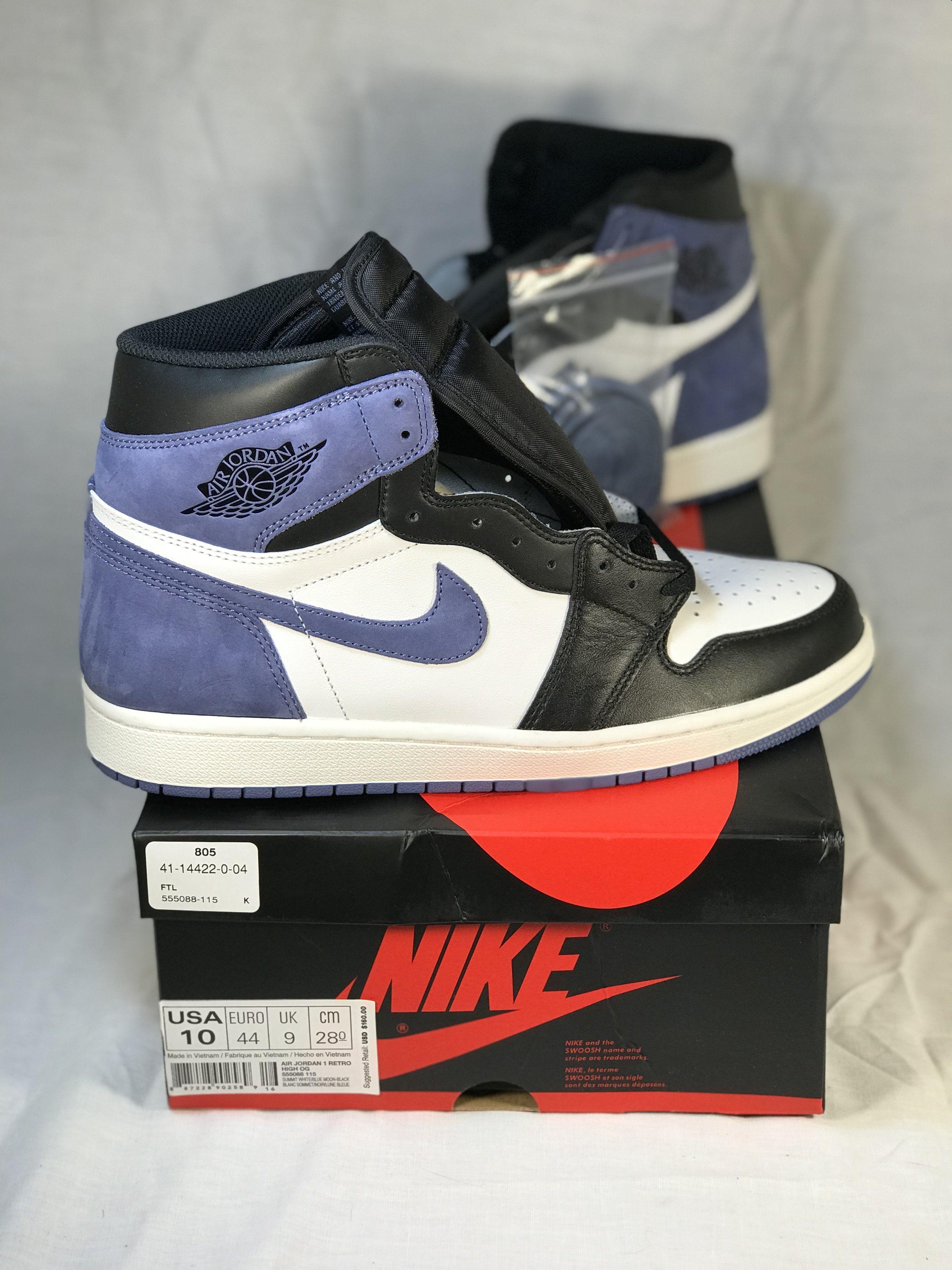 Air Jordan 1 Retro High Og Blue Moon Jordan 1 Retro High Air
