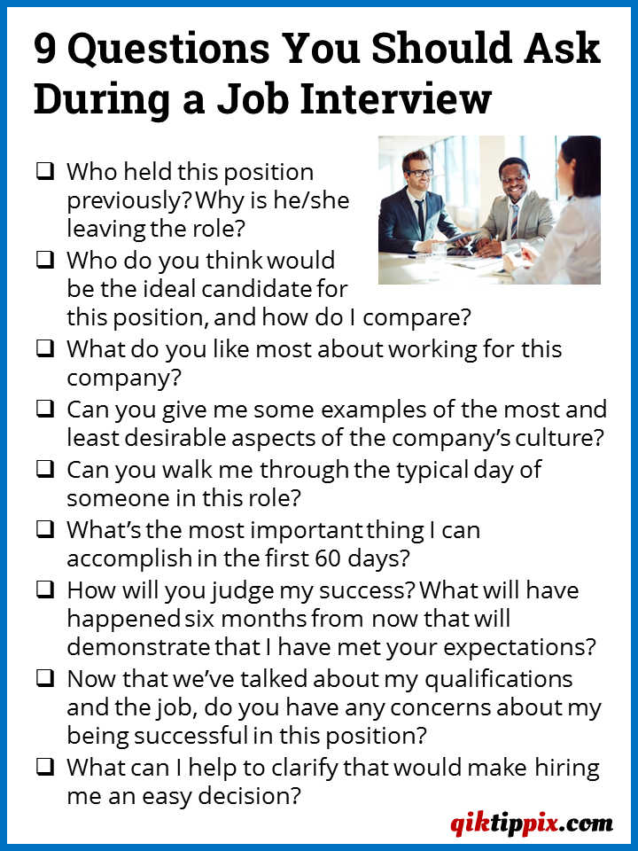 interview questions news topics