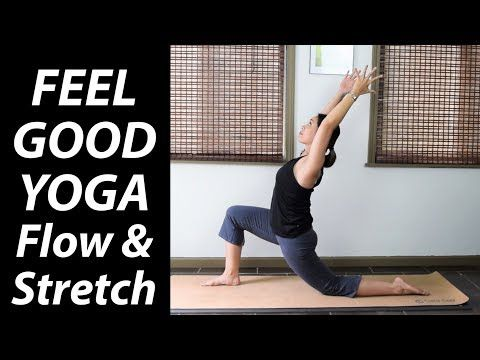 30 minute feel good yoga flow  stretch  yoga upload
