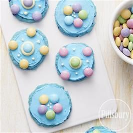 Easter Blue Raspberry Cookies from Pillsbury® Baking