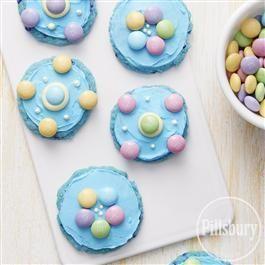Easter Blue Raspberry Cookies from Pillsbury® Baking