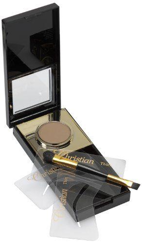 Christian Eyebrow Semi Permanent Make-Up Kit Dark Brown ...