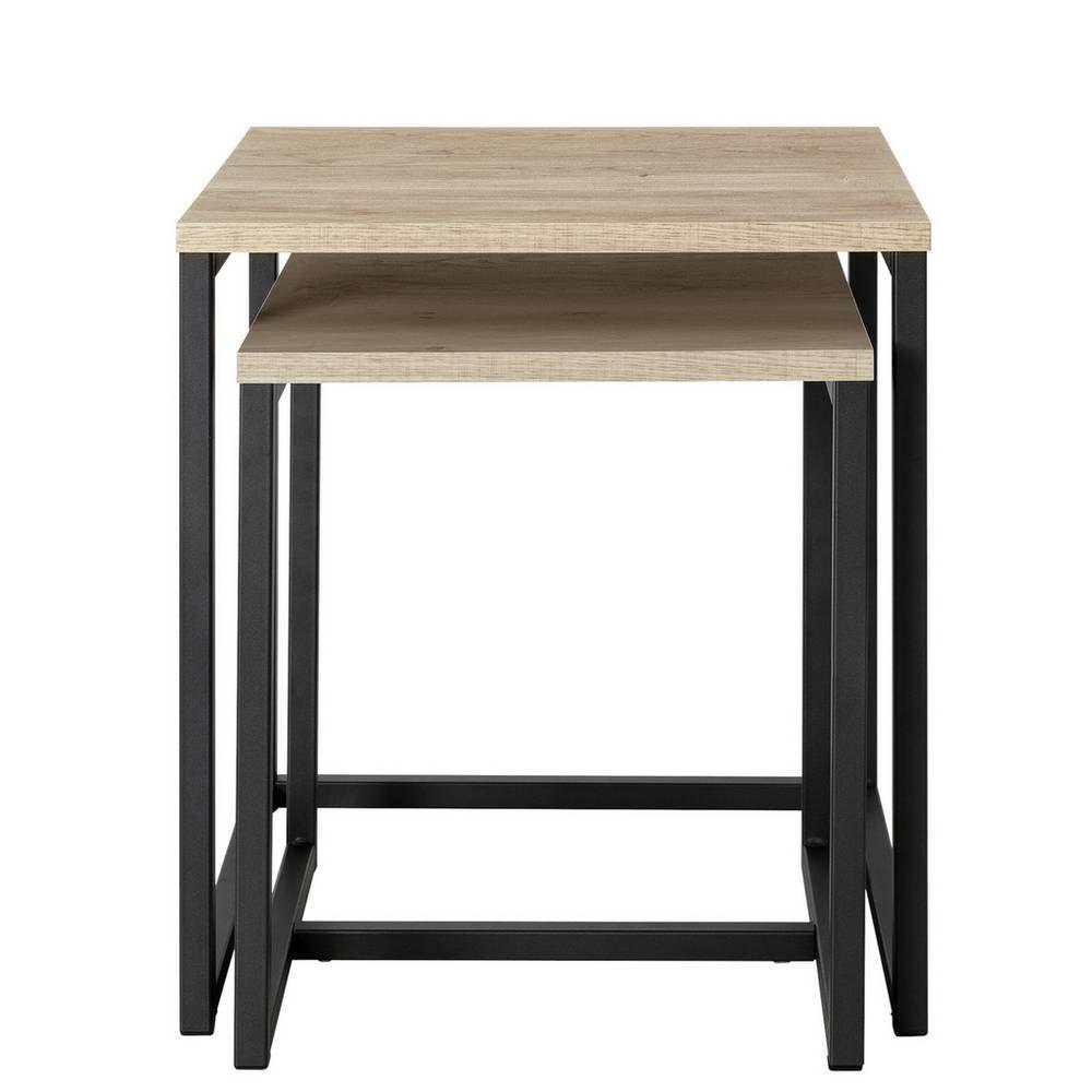 Buy Argos Home Nomad Nest Of Tables Oak Effect Nest Of Tables Argos Argos Home Oak Side Table Light Oak [ 1000 x 1000 Pixel ]