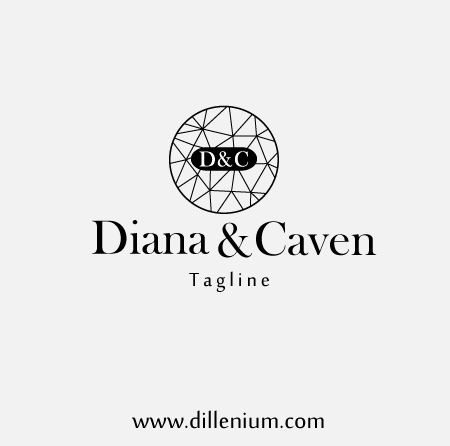Modern Clothing Line Logo Inspired with Famous Brand Adding Value is part of Modern Clothes Logo - Modern clothing line logo design template comprises on crystal style letter theme in a circular format  Available with custom changes of your business