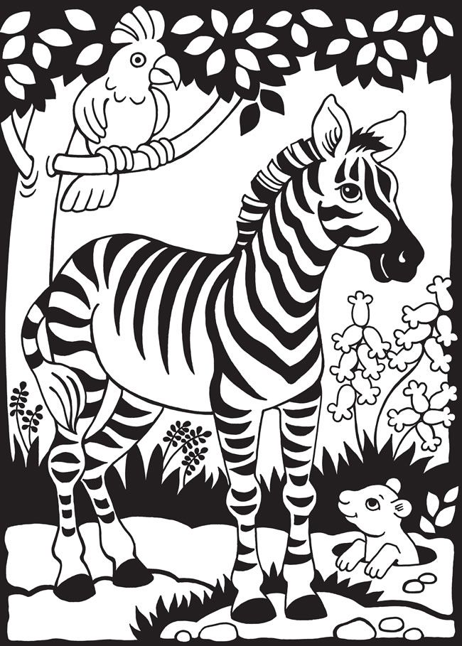 Pin By Esra Balci On Indoor Recess Animal Coloring Pages Zebra Coloring Pages Coloring Books