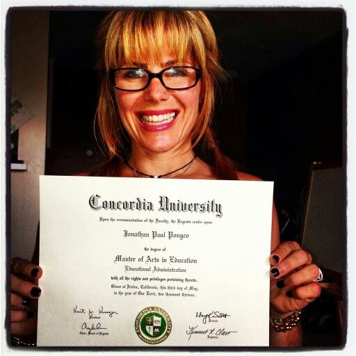My Degree Finally Arrived! It Doesn't Happen Without