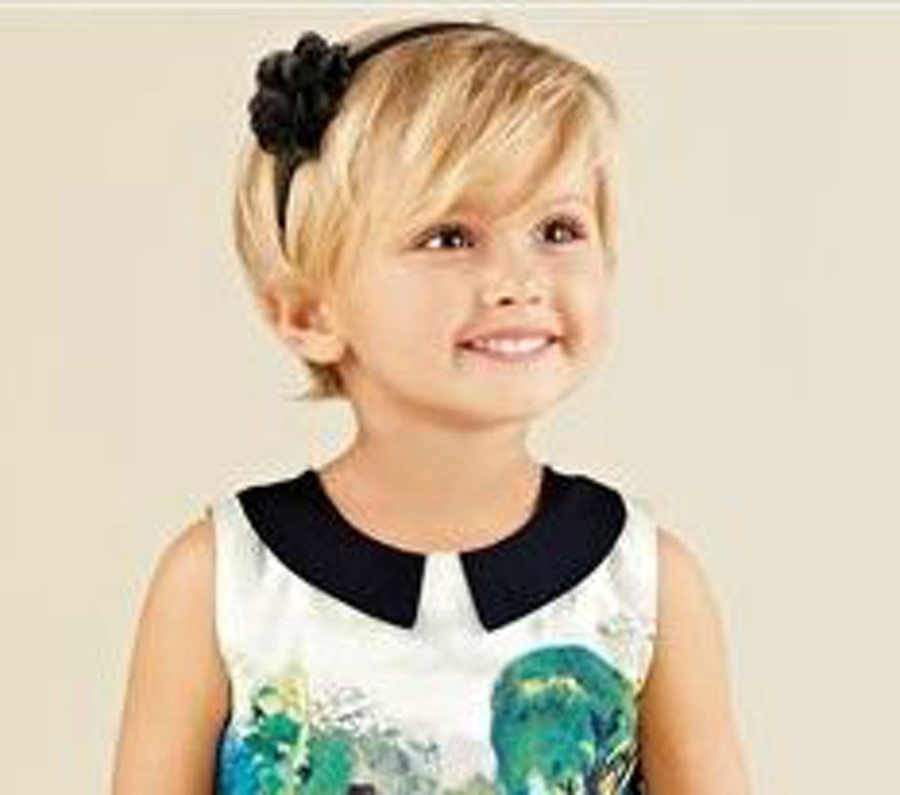 Photos 20 coiffures courtes pour petites filles Little
