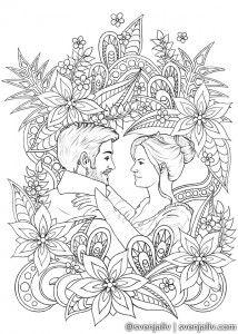 Captain Swan Dance Page Art Coloring Pages Illustration Art