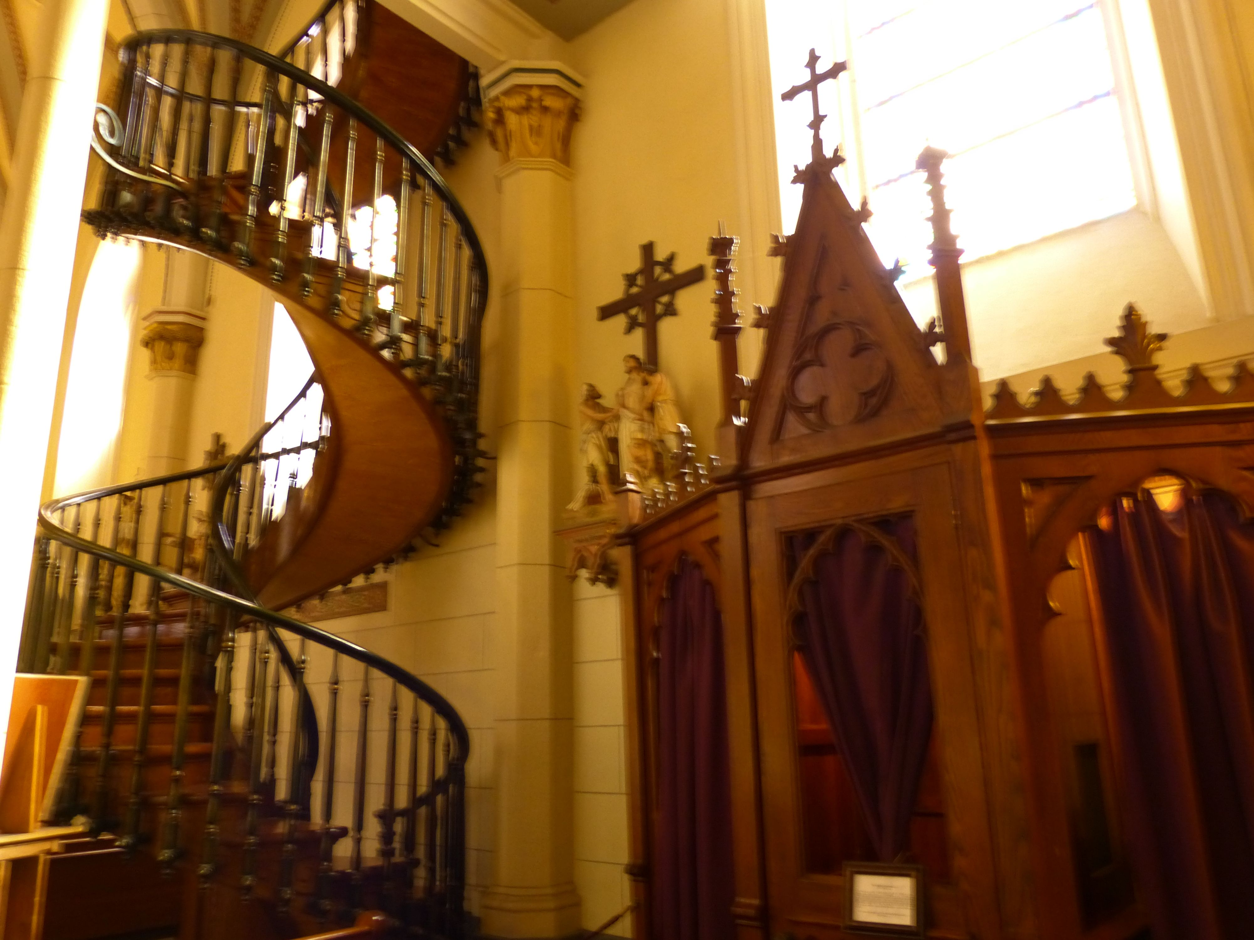 Best Miraculous Staircase In The Loretto Chapel Santa Fe Nm 400 x 300