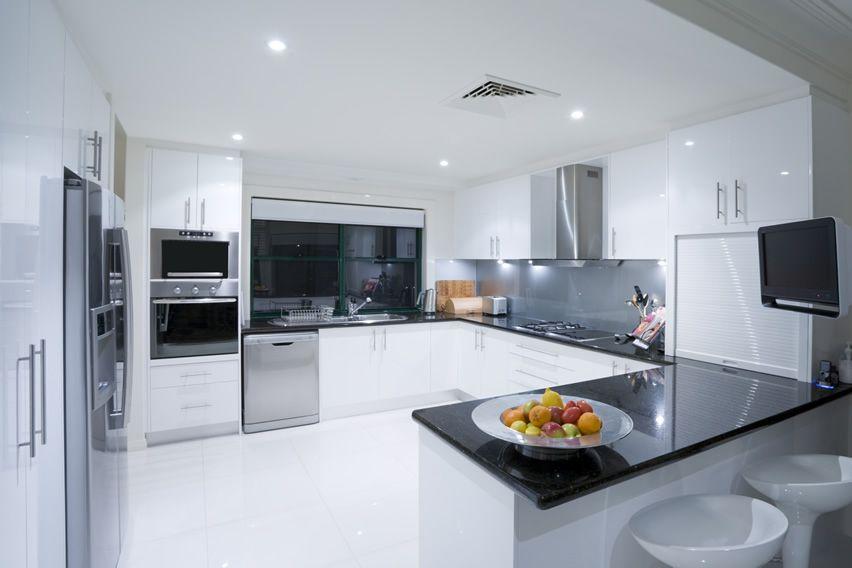 modern white kitchen cabinets with black countertops. 75 modern kitchen designs photo gallery white cabinets with black countertops l