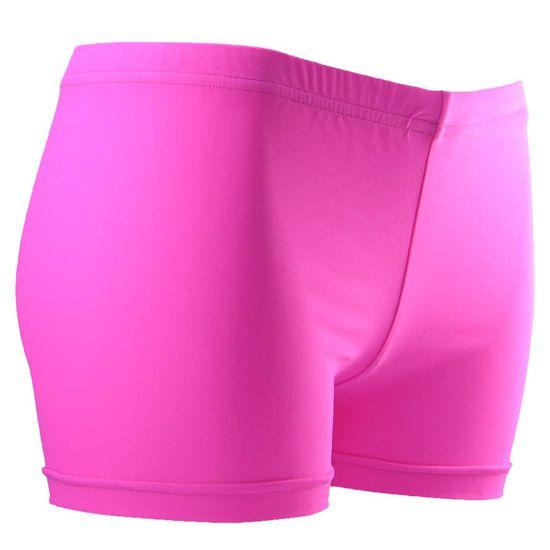 d25bd7fef5ca Gem Gear Neon Pink Volleyball Spandex Shorts   Volleyball ...