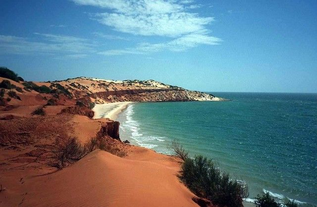 Beaches of Australia! - accessible by 4WD our red cliffs are dramatic and incredibly photogenic! Don't forget your camera!
