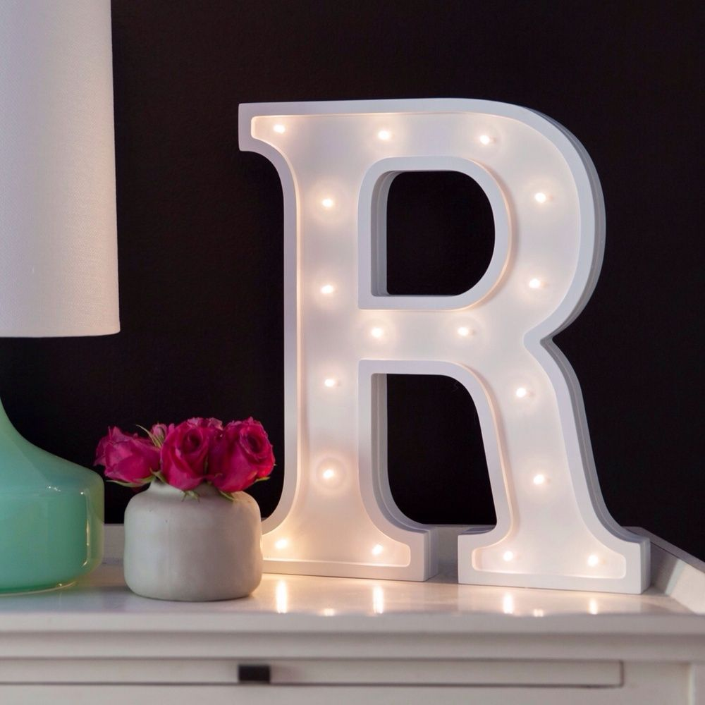 little letter light cos battery operated white letter lights are a unique safe addition to