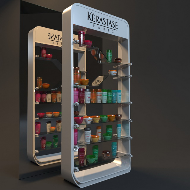 Cosmetic showcase displays 3d model 3ds max,FBX,Object files