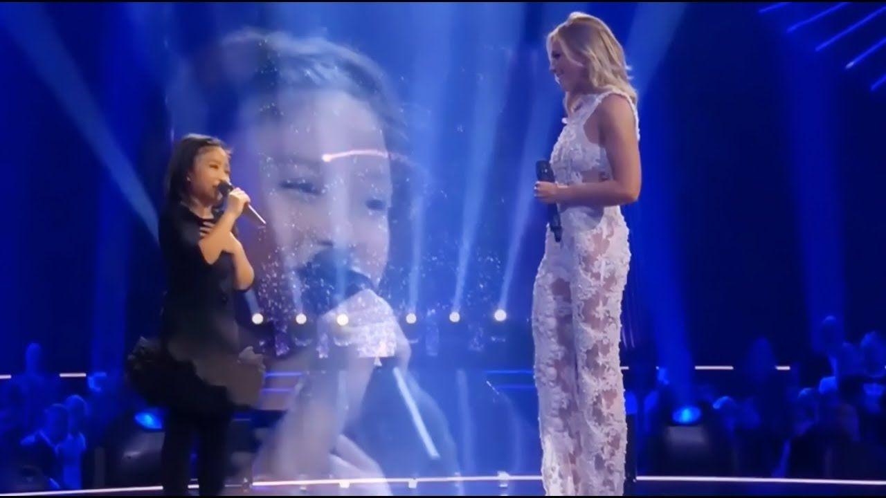 Celine Tam Helene Fischer Amazing Duet You Raise Me Up Die Hele