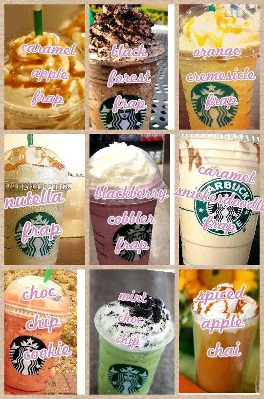 Secret Starbucks Drinks Not on the Menu #starbucksfrappuccino