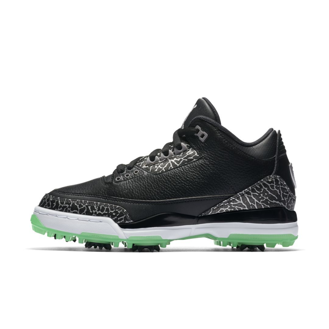 f3bf5c23045a Nike Air Jordan 3 Men s Golf Shoe Size 8.5 (Black)