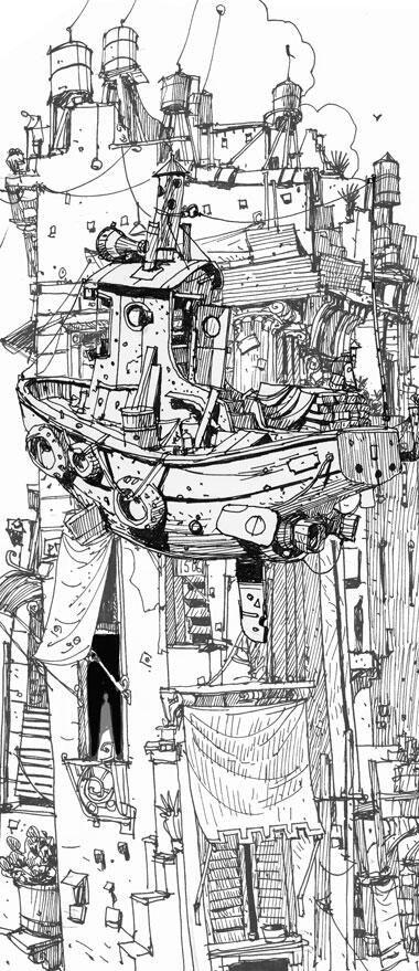 Ian Mcque On Ilustrace Kresby A Obrazky