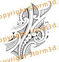 maori forearms tattoos design flash | High quality Maori tribal ...