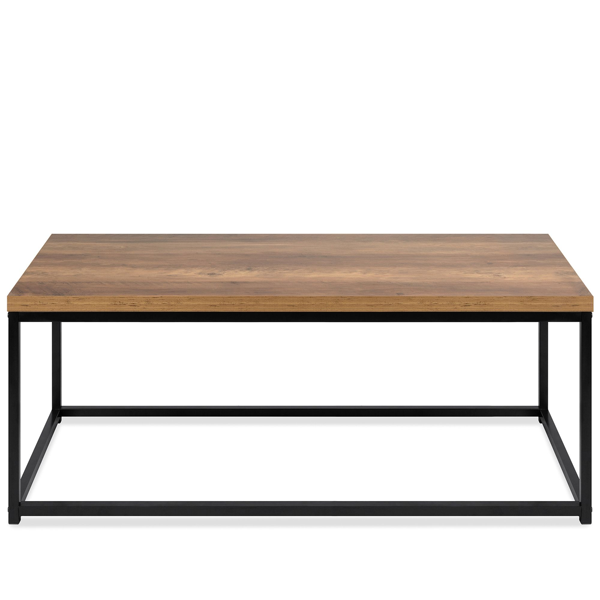 Best Choice Products 44in Modern Industrial Style Rectangular Wood Grain Top Coffee Table W Metal Frame 1 25in Top Walmart Com Coffee Table Metal Frame Coffee Table Metal Coffee Table [ 2000 x 2000 Pixel ]