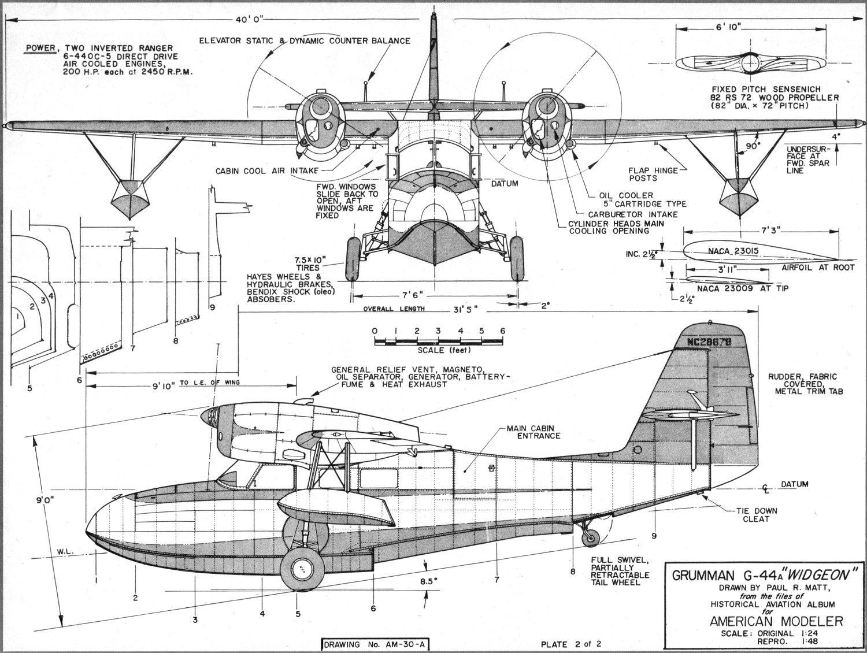 Grumman Goose Plans