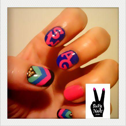 Love Supa Nails Beauty Pinterest Swag Swag Nail Swag And