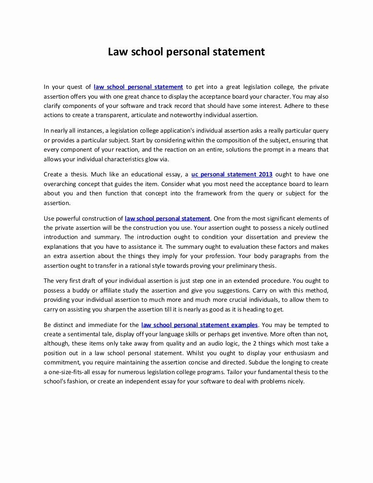 Personal Statement For School Unique Law 16 Expository Essay Examples Example Of Uc