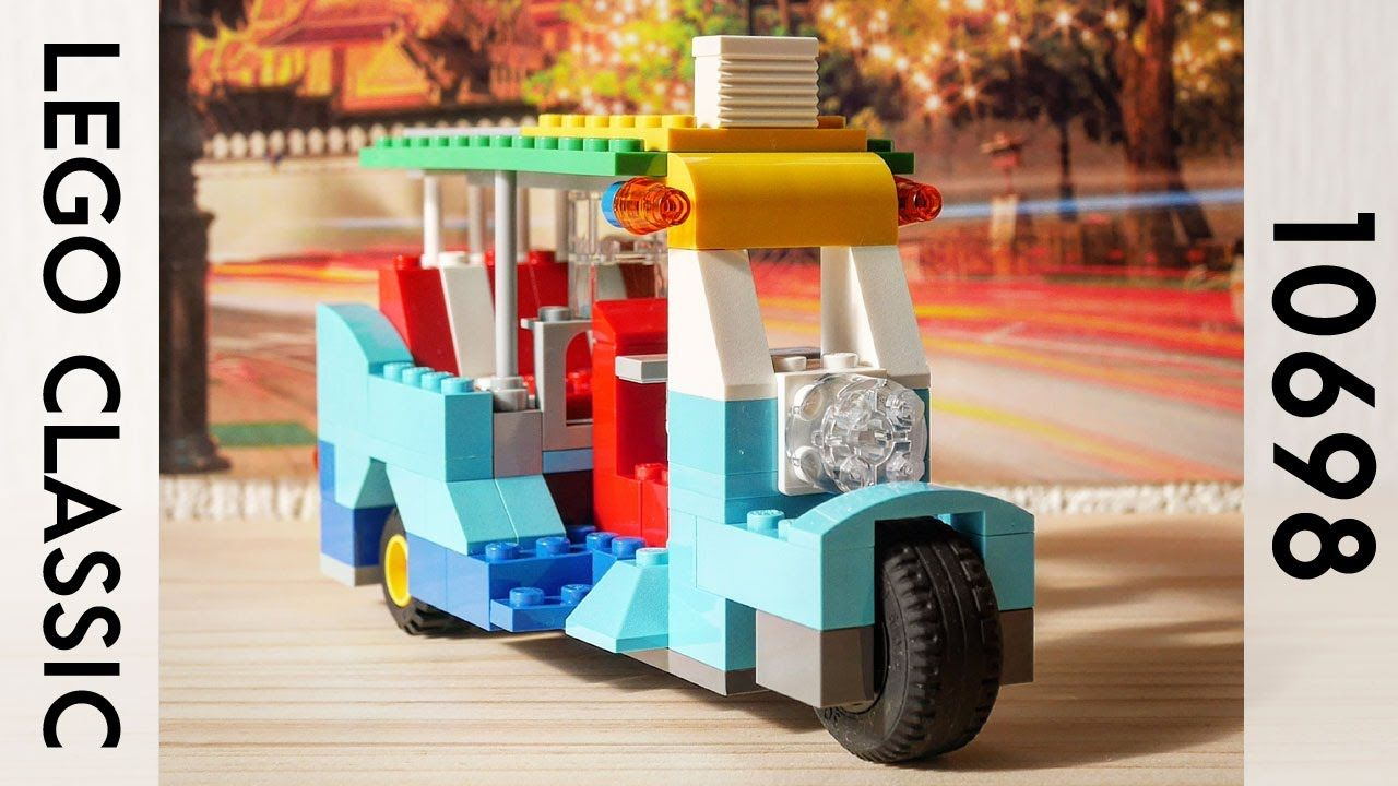 Building A Simple Lego Taxi Using Classic 10698 レゴ タクシーの