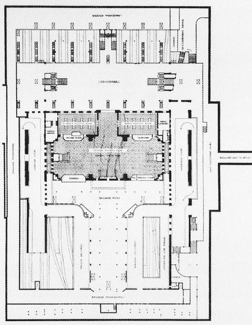 Penn Station Pathfinder Historic Floorplans 1910 Floor Plans Train Station Architecture Penn Station Nyc