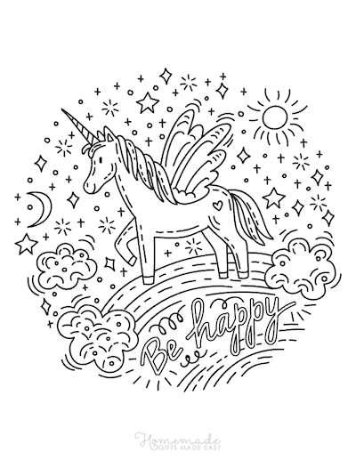 75 Magical Unicorn Coloring Pages For Kids Adults Free Printables In 2021 Unicorn Coloring Pages Love Coloring Pages Coloring Pages