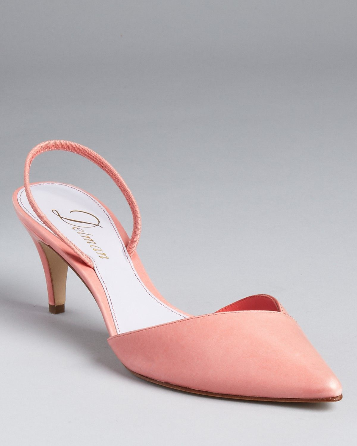 8504daf6295 Delman Pumps- Laci Slingback....oh, how these make me smile ...