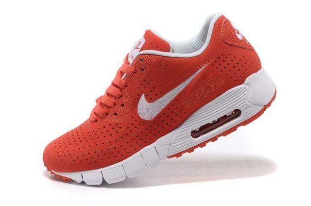 pretty nice 01fff da5ef Nike Air Max 90 Current Moire x Air Zoom Moire Womens Orange Red White  344081 013