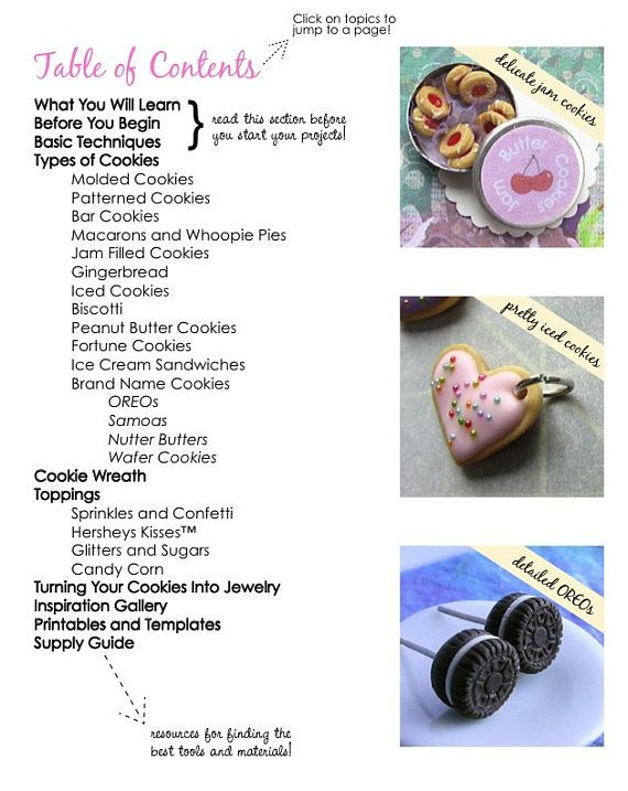 how to make polymer clay food jewelry