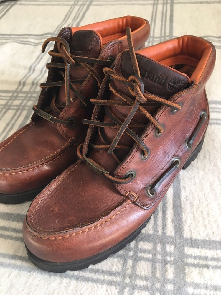 timberland gore tex boat shoes