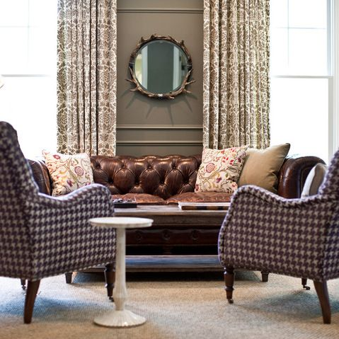 Brown Chesterfield Sofa Design Ideas, Pictures, Remodel ...